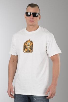 T-Shirt West Coast Choppers Goldfire Biały