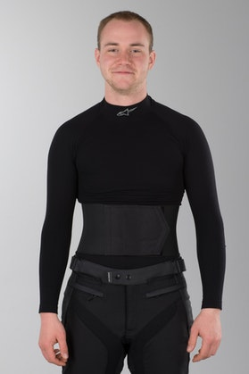 Nyrebælte IXS Tex Belt 3 Sort