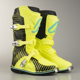 Acerbis Youth Shark Boots Black-Yellow