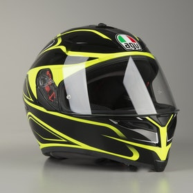 AGV K-5 S Magnitude Helmet Black-Fluorescent
