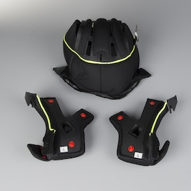 Acerbis Carbon 3.0 Interior Black-Yellow