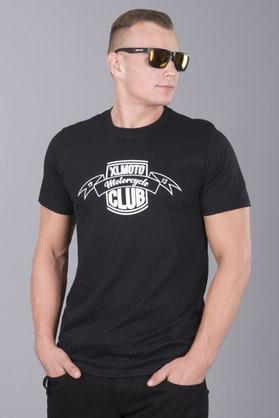 T-Shirt XLMOTO Club Czarny