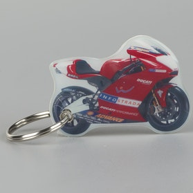 One Design Ducati GP Keyring
