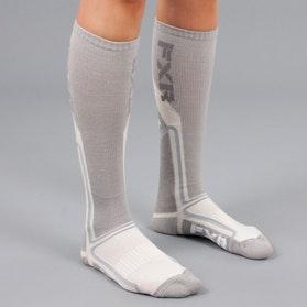 FXR Mission Performance Socks White-Grey