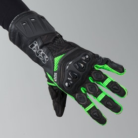 IXS RS-200 Gloves Black-Green