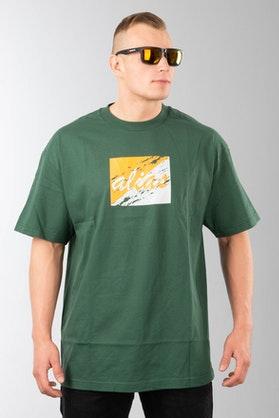 T-Shirt Alias Crossover Zielony