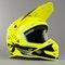 Kask Cross O'Neal 5 Series Trace Czarno-Neonowo Żółty