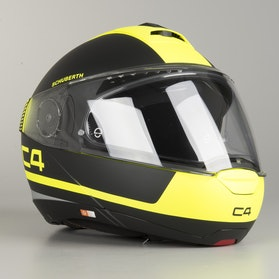 Schuberth C4 Legacy Yellow Helmet