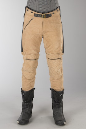 Ride&Sons Diamond Trousers Suede Brown