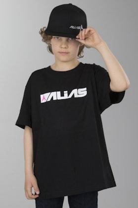 Koszulka Alias Block Czarny-Biały Dziecięca