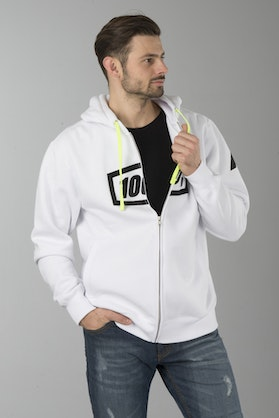 100% Syndicate Hoodie White