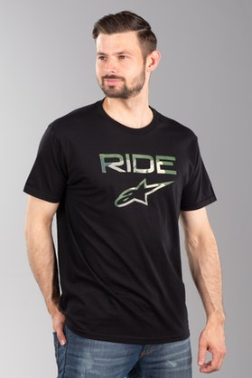Alpinestars Ride 2.0 Camo T-Shirt Black