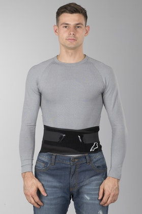 Alpinestars Saturn Kidney Belt Black-White