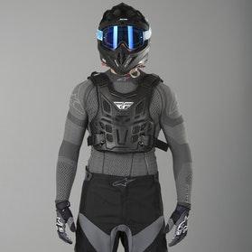 FLY Revel Race Chest Protection - Black