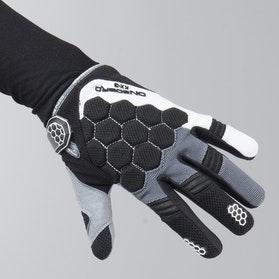 On Board Kid Kx-3 MX Gloves Black-Grey-White