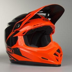 Crossová Helma Bell Moto-9 Intake Červená