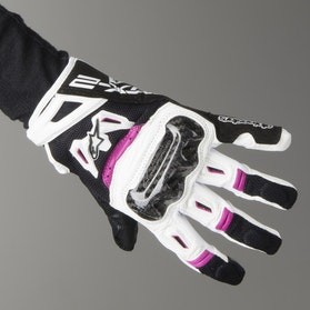 Alpinestars SMX-2 Air Carbon V2 Women's Motorcycle Gloves - Black