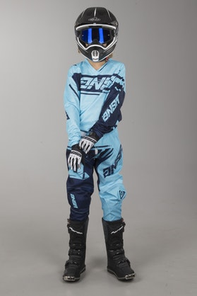 Answer Syncron Youth MX-Clothing Kit Cyan-Navy