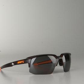 Okulary Motocyklowe 100% Speedcoupe Ciemny Matowy Havana Przyciemnione Soczewki