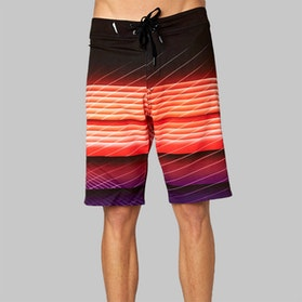 Fox Astro Board Shorts Orange Purple