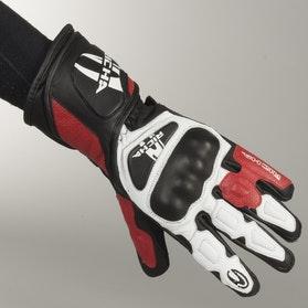 Rękawice Richa RS86 Sports Czarno-Biało-Czerwone