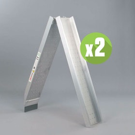 ProWorks Foldable Loading Ramps 250kg 2-Ramps