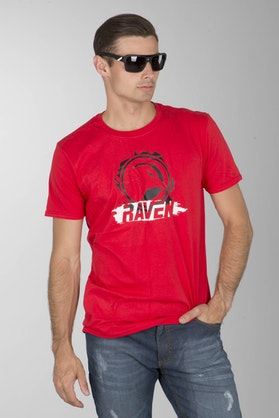 Koszulka Raven Strike czerwona