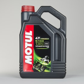 Motul 5100 4T 4L Oil Semi-synthetic