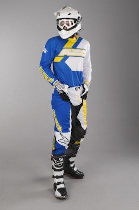 Bluza Cross AXO Trans-Am Niebiesko-Żółta