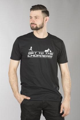 Koszulka XLMOTO Get to the Chopper Czarna