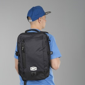 100% Transit Backpack Positive Black
