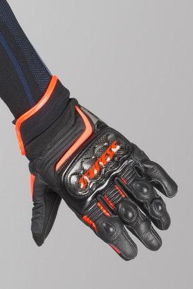 Rękawice Dainese Carbon D1 Krótkie Czarno-Czerwone