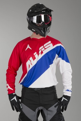 Alias A1 Floated MX Jersey Red-Blue