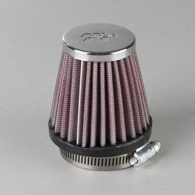 Filtr powietrza Okrągły Stożkowy Chrom K&N Universal