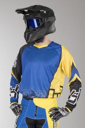 Bluza Cross Upforce Niebiesko-Żółta