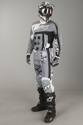 JT Racing Flex MX Clothing Kit Exbox Grey-Black
