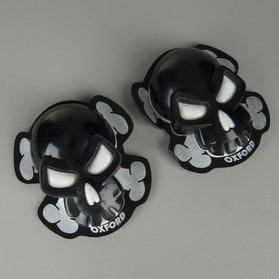 Slidery Oxford Skull Černá