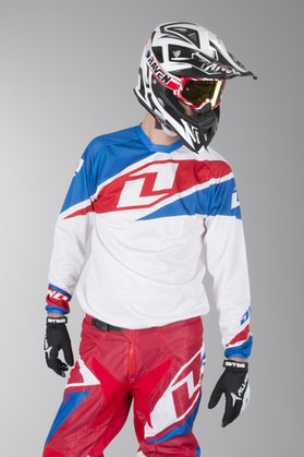 One Industries Atom Vented Motocross Jersey - White
