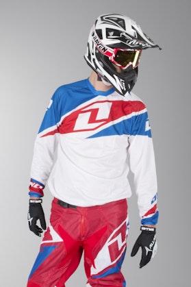 Bluza cross OneIndustries Atom Vented Biały
