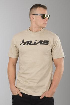 T-Shirt Alias Blocked 2 Piaskowy