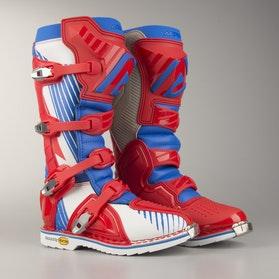 Acerbis X-Pro V Boots Blue-Red