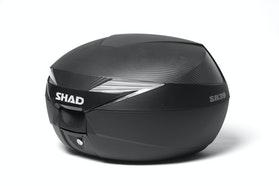Topboks Shad SH39 + Monteringssæt, Carbon