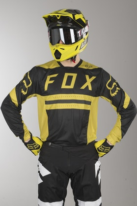 Bluza Cross Fox Flexair Preest Ciemnożółta MX 18