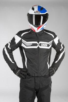 IXS Sport RS-400-ST Jacket Black-White