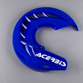 Acerbis X-Brake Front Brake Disc Protection - Blue