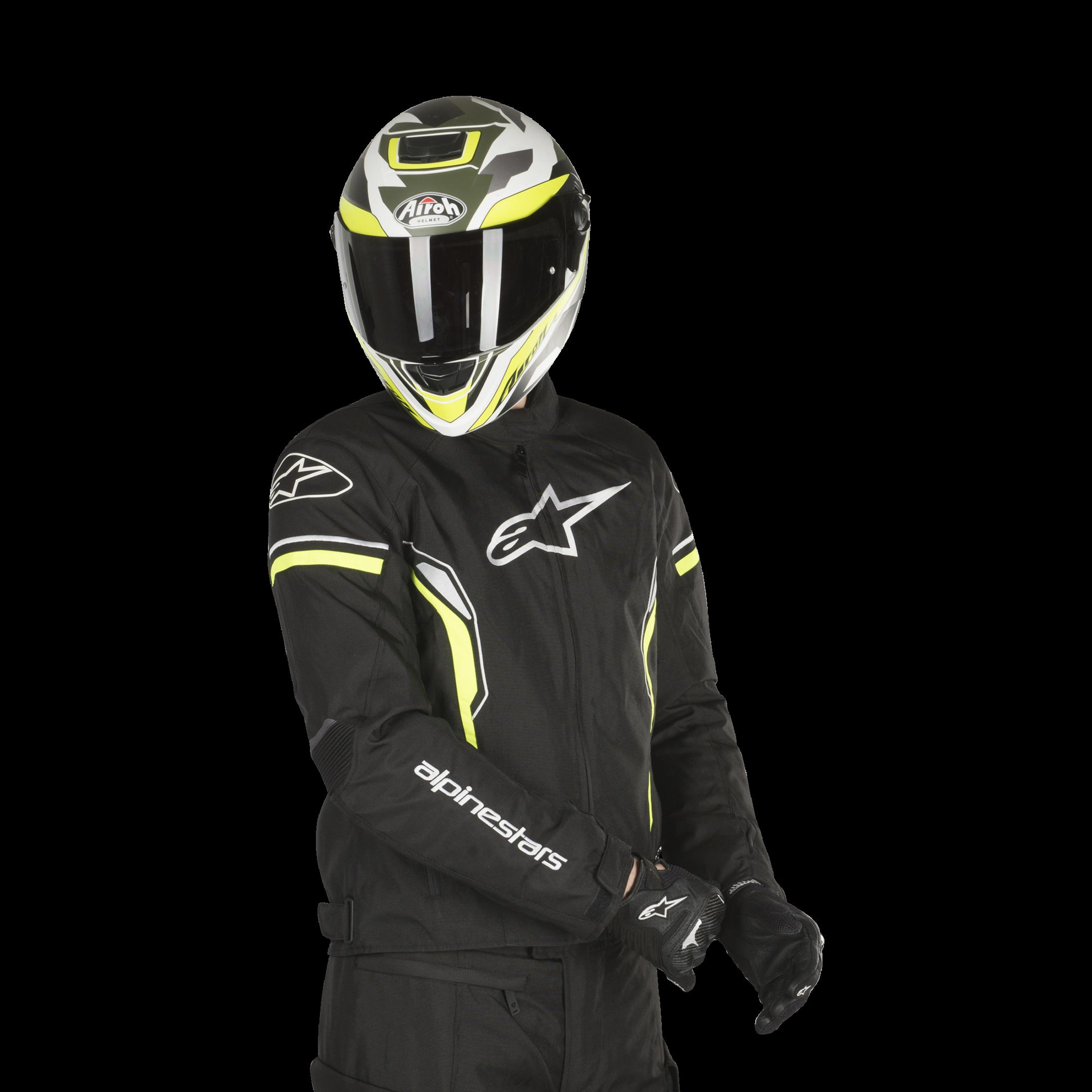 amarillo ne/ón color negro talla XXL Alpinestars Chaqueta de motorista T-sp-1 impermeable