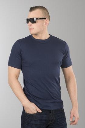 T-Shirt West Coast Choppers Jesse James Workwear Sturdy Granatowy