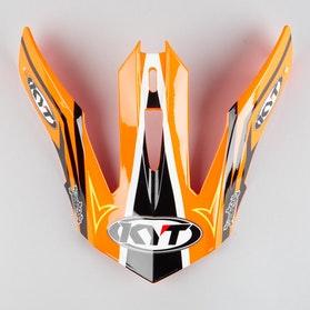 Kšilt Helmy KYT Strike Eagle Simpson Oranžový