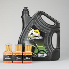 Olej silnikowy A9 Racing Kawasaki 4L + 3-Pak Filtrów oleju