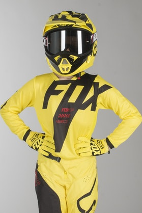 Fox 180 Mastar Kids MX Clothes Yellow MX 18